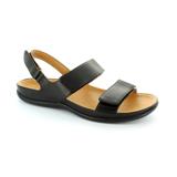 スニーカー感覚で歩き回れる「サンダル」|KONA (25-25.5cm) 独自開発の立体インソールで、スニーカーみたいに歩き回れる「サンダル」|strive|Black
