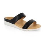 スニーカー感覚で歩き回れる「サンダル」|FARO (24-24.5cm) 独自開発の立体インソールで、スニーカーみたいに歩き回れる「サンダル」|strive|Black-Lizard Skin