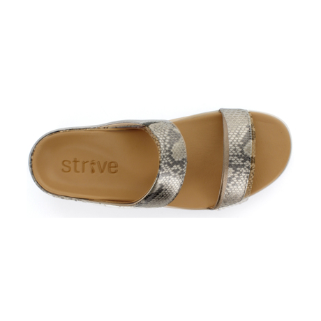 スニーカー感覚で歩き回れる「サンダル」|FARO (24-24.5cm) 独自開発の立体インソールで、スニーカーみたいに歩き回れる「サンダル」|strive|Snake Print