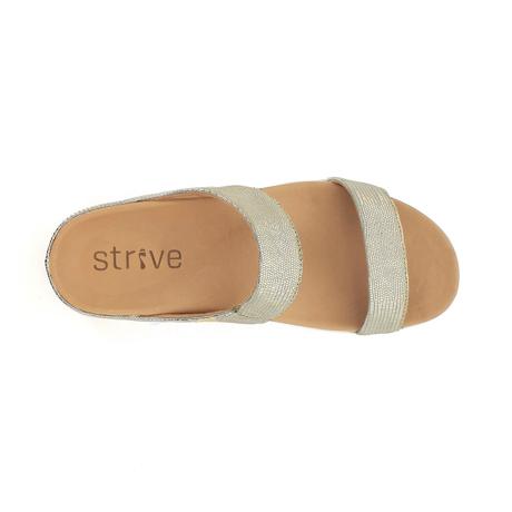スニーカー感覚で歩き回れる「サンダル」|FARO (24-24.5cm) 独自開発の立体インソールで、スニーカーみたいに歩き回れる「サンダル」|strive|SilverGlamour