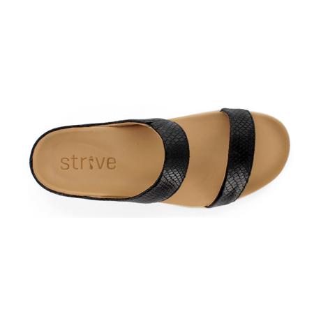 スニーカー感覚で歩き回れる「サンダル」|FARO (25-25.5cm) 独自開発の立体インソールで、スニーカーみたいに歩き回れる「サンダル」|strive|Black-Lizard Skin