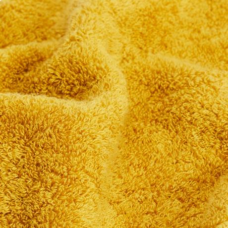 汗をすぐに分解消臭!1日中爽やかなミニタオル|フワッフワの肌触り、汗が臭わない今治ミニタオル|Breeze Bronze|クララ(黄)