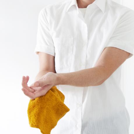 汗をすぐに分解消臭!1日中爽やかなミニタオル|フワッフワの肌触り、汗が臭わない今治ミニタオル|Breeze Bronze