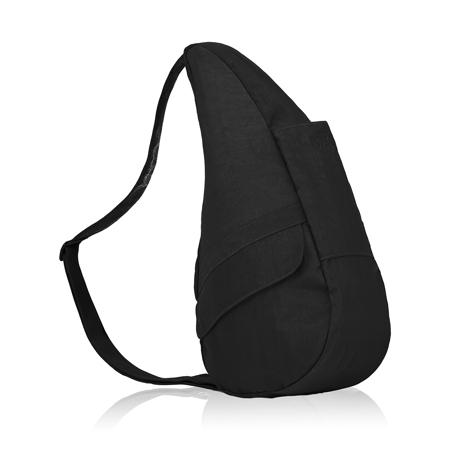 お出かけが増える「ボディバッグ」|2019年新作《Mサイズ》人間工学による「しずく型」で、荷物も体も軽くなるボディバッグ|Healthy Back Bag|ブラック