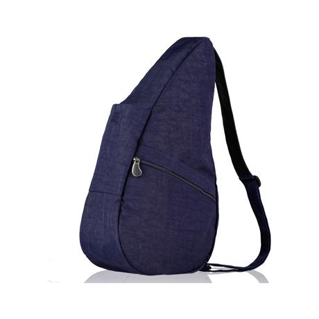 お出かけが増える「ボディバッグ」|2019年新作《Mサイズ》人間工学による「しずく型」で、荷物も体も軽くなるボディバッグ|Healthy Back Bag|ブルーナイト
