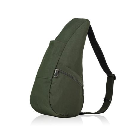 お出かけが増える「ボディバッグ」|2019年新作《Mサイズ》人間工学による「しずく型」で、荷物も体も軽くなるボディバッグ|Healthy Back Bag|ディープフォレスト