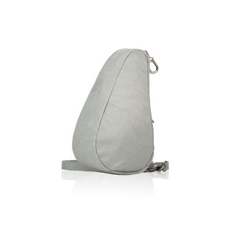 お出かけが増える「ボディバッグ」|《バッグレット》人間工学による「しずく型」が、体にフィットするボディバッグ|Healthy Back Bag|フロストグレー