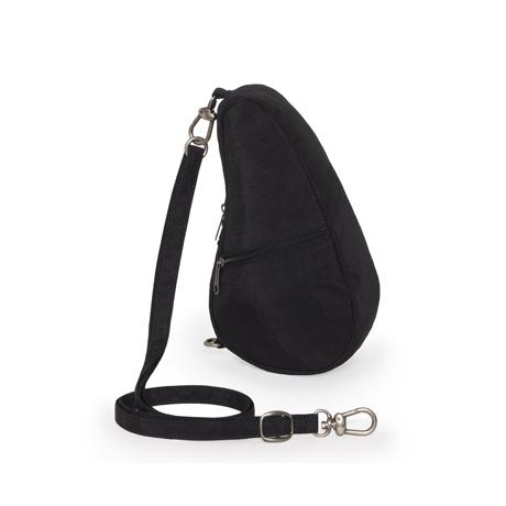 お出かけが増える「ボディバッグ」|《バッグレット》人間工学による「しずく型」が、体にフィットするボディバッグ|Healthy Back Bag|ブラック