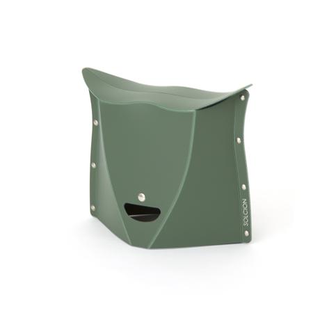 薄さ3センチの「どこでもイス」|《NEW PATATTO 250(高さ25cm)》使う場所を選ばない、どこにでも持ち歩けるイス|PATATTO|オリーブ