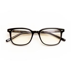 《MONOCOオリジナル企画》着けたままカフェへ、紫外線&ブルーライトもカット!人前でかけたくなる、お洒落なセルロイド製「老眼鏡」|LAUGHWRINKLES