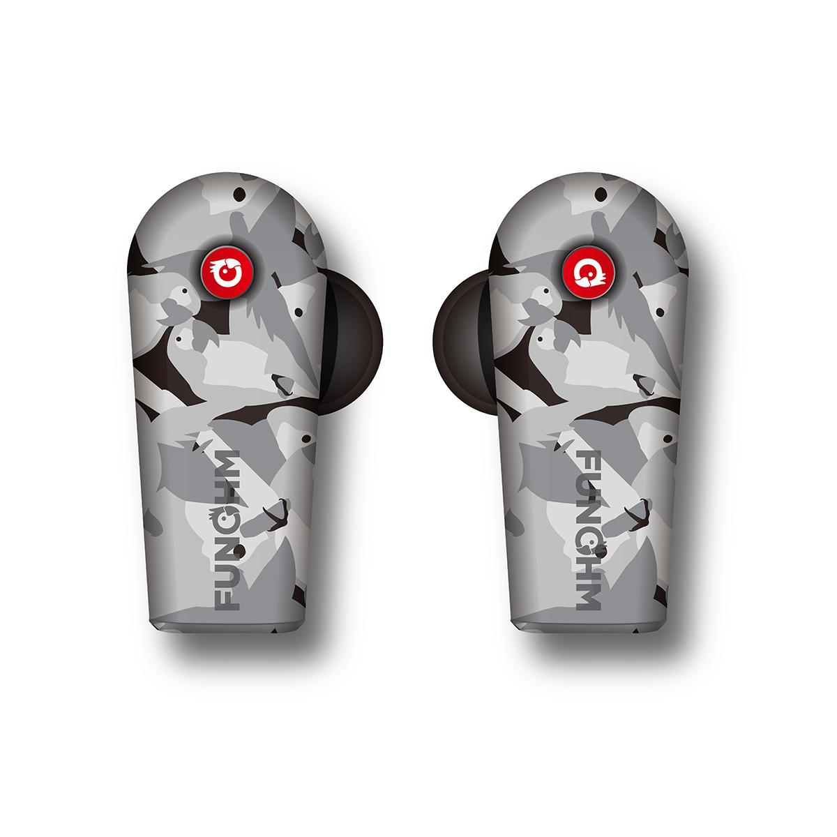 ワイヤレスイヤホンの「3大イライラ」を解決!|新発想!耳から落ちない、音が途切れない、20時間再生OKのワイヤレスイヤホン|FUNOHM F2
