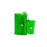 大人のための『遊びウォレット』|《クリアカラー》これひとつで、ジム・旅行・アウトドアへ!ミニマム構造がかなえる、軽量&収納力の「ミニ財布」|SALLIES|クリアグリーン
