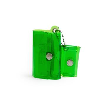 毎日の「散歩」が楽しくなるグッズを集めてみました|《クリアカラー》これひとつで、ジム・旅行・アウトドアへ!ミニマム構造がかなえる、軽量&収納力の「ミニ財布」|SALLIES|クリアグリーン