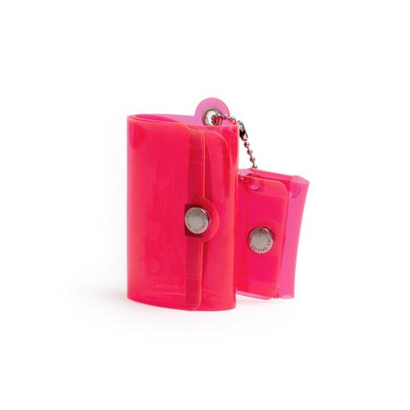 大人のための『遊びウォレット』|《クリアカラー》これひとつで、ジム・旅行・アウトドアへ!ミニマム構造がかなえる、軽量&収納力の「ミニ財布」|SALLIES