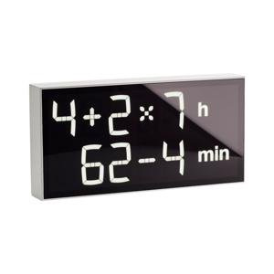 インテリアに遊び心を!ゲーム感覚で数式を解いて、時刻を割り出す「デジタル時計」 | Albert Clock