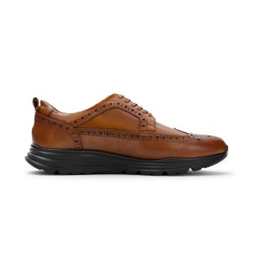 自由な発想を「紳士靴」にも! スーツにもデニムにも合う、遊びゴコロを履かせた大人の「ドレススニーカー」 三陽山長 ブラウン/26.5-27cm(8.5US)