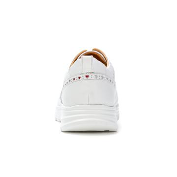 自由な発想を「紳士靴」にも!|スーツにもデニムにも合う、遊びゴコロを履かせた大人の「ドレススニーカー」|三陽山長|ホワイト/25.5-26cm(7.5US)