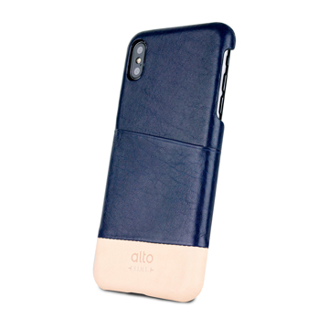 革作りから手がけ、iPhoneとの「完璧な調和」を追求したカードホルダー付きスマホケース|Alto(iPhone X, XS, XR対応)