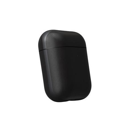 "AirPodsに憧れの""革ジャケット""を|100日後に分かる、本当の艶と味。米国最高峰のホーウィン社製レザーで仕立てた、ワイヤレ充電対応の「AirPods/AirPods Proケース」| NOMAD| AirPods Case V2/ブラック"