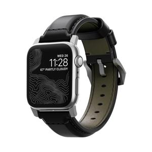 《SILVER》米国最高峰のタンナーが、6ヶ月かけて仕上げた希少革「シェルコードバン」のApple Watchバンド|Apple Watch1,2,3(42mm)/4,5(44mm)対応|NOMAD