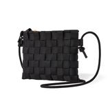 """知恵を編んだ『背負いカゴバッグ』 取り外し可能な""""バッグ イン バッグ""""が付属。3通りの使い方ができる「ショルダーバッグ」  PACK Black"""