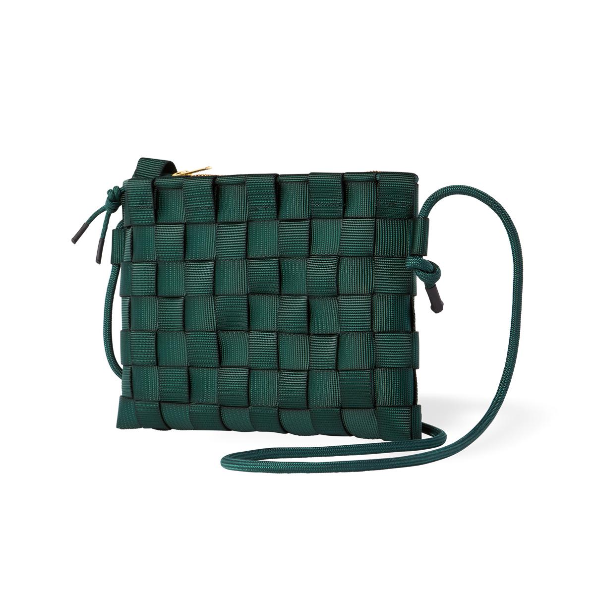 """知恵を編んだ『背負いカゴバッグ』 取り外し可能な""""バッグ イン バッグ""""が付属。3通りの使い方ができる「ショルダーバッグ」  PACK"""