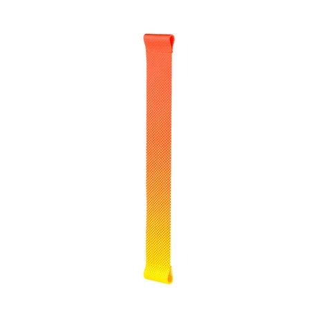 知恵を編んだ『背負いカゴバッグ』|《オプション/替ストラップ》アクセサリー感覚で付け替えできる「グラデーションストラップ」| PACK|グラデーション(Red-Yellow)