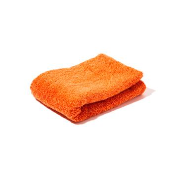 入浴の効果を高めるための7つの方法を教えます。|《フェイスタオル》目も肌も喜ぶ、色鮮やかなオーガニックタオル|Hippopotamus|ORANGE
