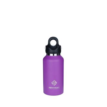 「指3本」で密閉できる魔法瓶|《355ml》炭酸もビールも36時間保冷、保温も18時間OKの「マイボトル」|REVOMAX|ライラックパープル