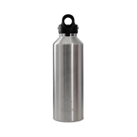 「指3本」で密閉できる魔法瓶|《950ml》炭酸もビールも36時間保冷、保温も18時間OKの「マイボトル」|REVOMAX|ギャラクシーシルバー