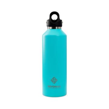 「指3本」で密閉できる魔法瓶|《950ml》炭酸もビールも36時間保冷、保温も18時間OKの「マイボトル」|REVOMAX|ティファニーグリーン