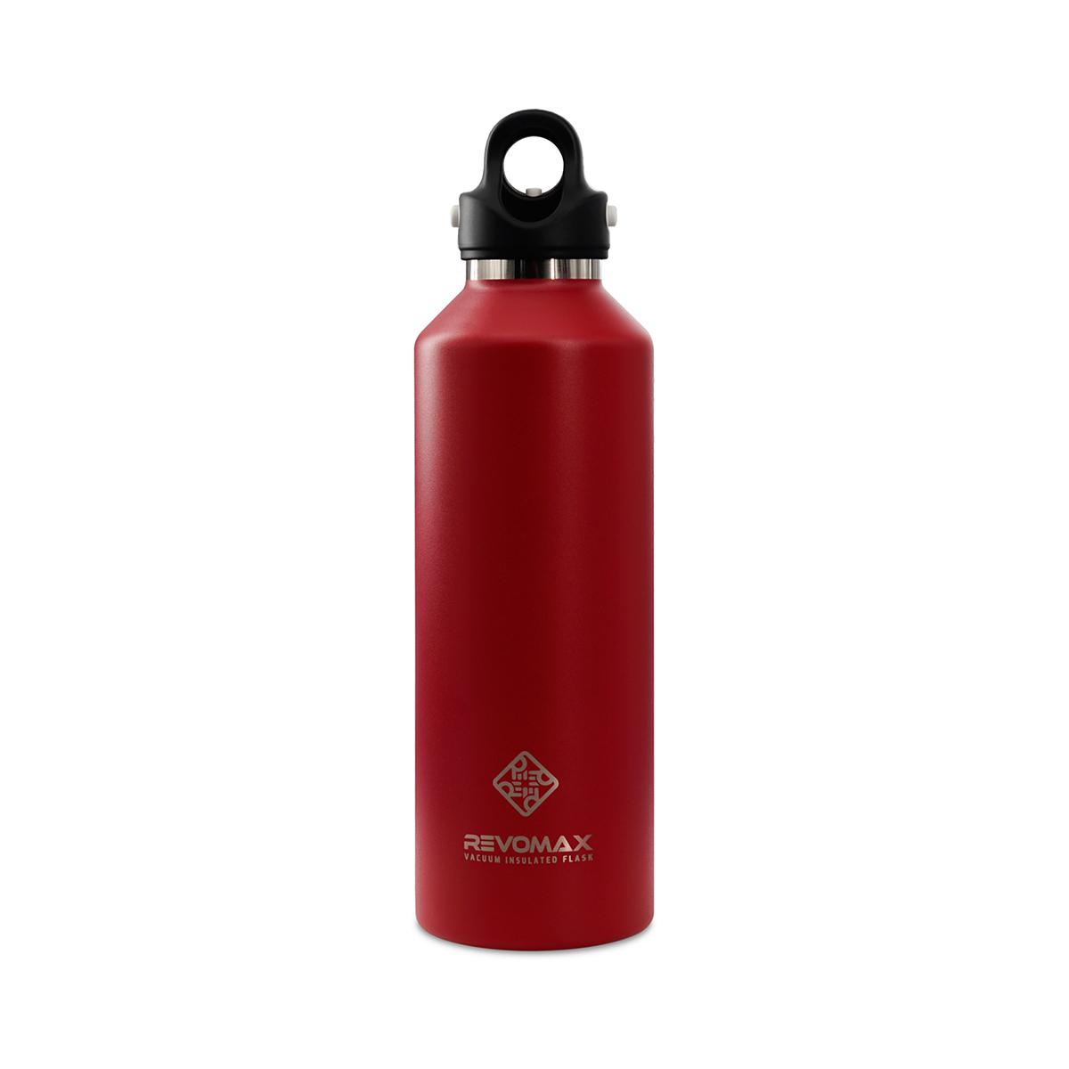 「指3本」で密閉できる魔法瓶|《950ml》炭酸もビールも36時間保冷、保温も18時間OKの「マイボトル」|REVOMAX