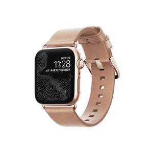 一緒に過ごすほど時計に愛着が持てる、ヌメ革の「Apple Watchバンド」| Apple Watch 4,5(40mm)/1,2,3(38mm)対応|NOMAD
