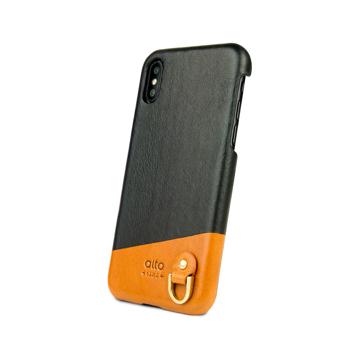 革作りから手がけ、iPhoneとの「完璧な調和」を追求したDリング付きスマホケース(ストラップ別売)|Alto(iPhone X,XS,XR対応)