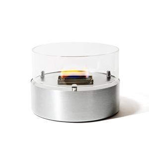 《単品/直径180mm》煙が出ず、倒しても安心の特殊燃料で手軽に楽しめる!「オイルランプMサイズ」|TENDERFLAME