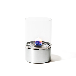 《単品/直径100mm》煙が出ず、倒しても安心の特殊燃料で手軽に楽しめる!「オイルランプSサイズ」|TENDERFLAME