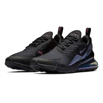 NIKE AIR MAX 270(BLACK/LASER FUCHSIA-REGENCY PURPLE)