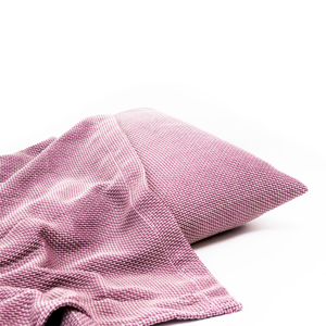 《シングルケット&枕カバーセット》 熟睡を追求した「織り構造」、365日使えるタオルケット | 大阪泉州産ハニカム織タオルケット