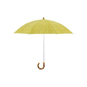 《晴雨兼用・折りたたみ傘》大人の女性が持ちたい、手描き風チェックが愛らしい晴雨兼用傘|Bon Bon Store