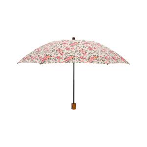 《晴雨兼用・折りたたみ傘》大人の女性が持ちたい、優しい花柄が優雅な晴雨兼用傘|Bon Bon Store