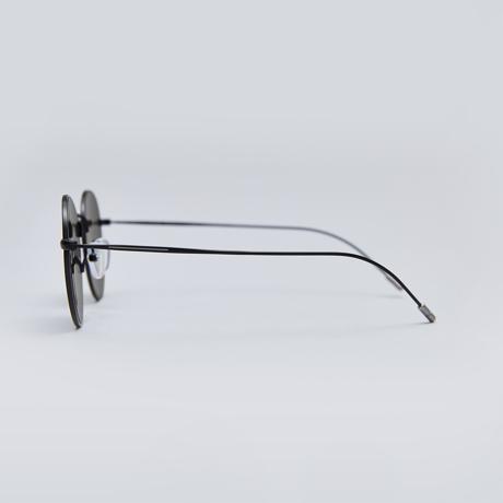 サングラス選びの3条件|《MEDIUM/レンズ幅51mm》風船で浮くほど軽い、フィット感抜群、踏んでも元に戻るβチタンフレームのサングラス|RAWROW R SUN 300|MEDIUM(BLACK/9月上旬入荷予定)