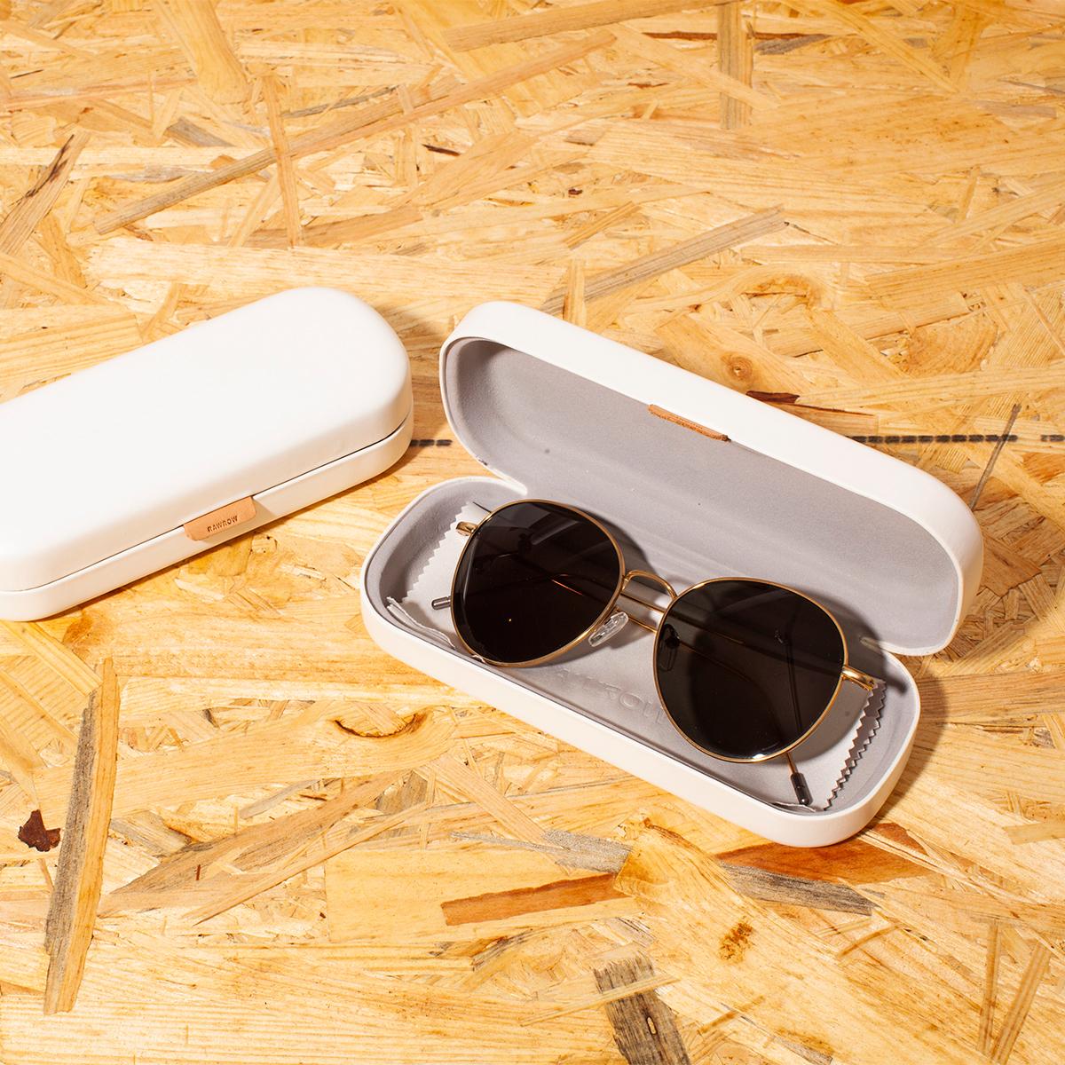 サングラス選びの3条件 《MEDIUM/レンズ幅51mm》風船で浮くほど軽い、フィット感抜群、踏んでも元に戻るβチタンフレームのサングラス RAWROW R SUN 300