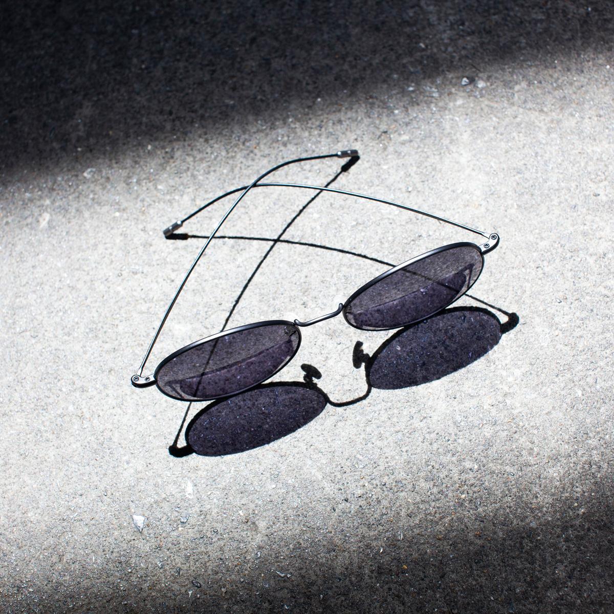 サングラス選びの3条件|《LARGE/レンズ幅56mm》風船で浮くほど軽い、フィット感抜群、踏んでも元に戻るβチタンフレームのサングラス|RAWROW R SUN 310