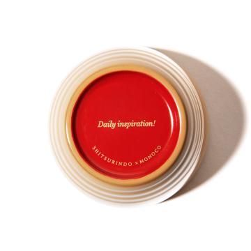 惣菜が「映える法則」を発見!|《単品/MONOCO限定》誰でもきれいに盛り付けができる、漆のあたたかい色彩。225年続く越前漆器の老舗がつくる「色漆のそば猪口」| 漆琳堂×MONOCO|蜂蜜(はちみつ)