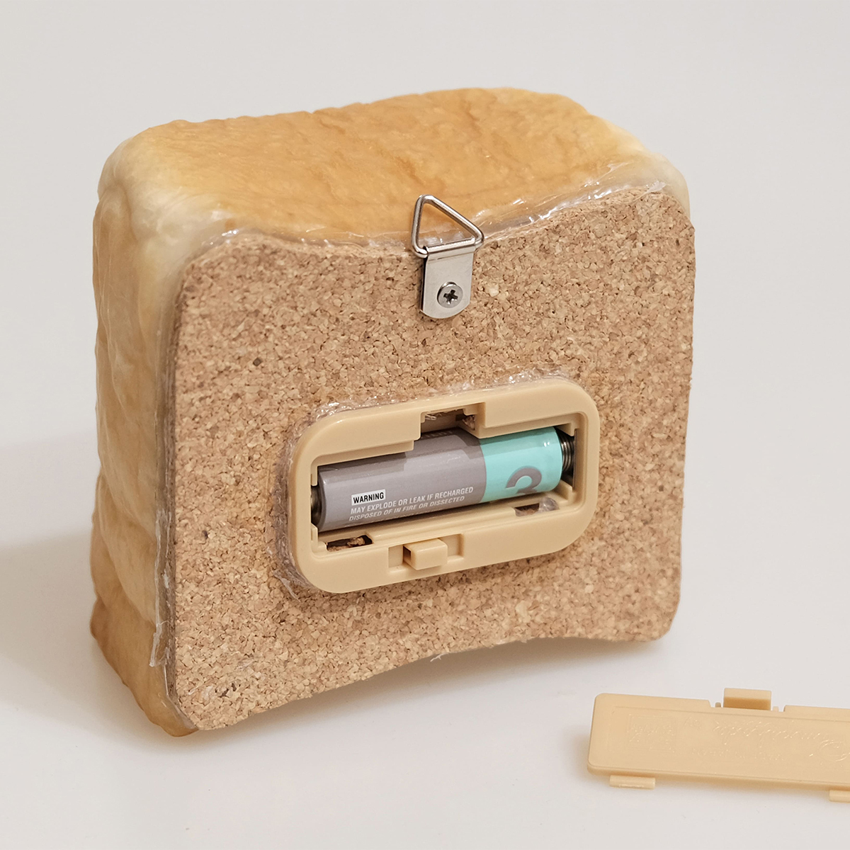 """焼きたてパンが""""灯す""""しあわせ 《トースト》本物のパンがそのままインテリアライトに!置くだけで明かりのオンオフができる「パンプシェード」  モリタ製パン所"""
