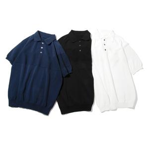 汗でベタつかない、匂わない、綿より軽い!三拍子揃った「ニットポロシャツ」|伊予和紙ポロシャツ