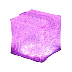 《レインボー7色・ミディアムサイズ》薄さ1.2cmに畳める超軽量ソーラー充電式ライトで、いつも太陽の光がそばに|carry the sun