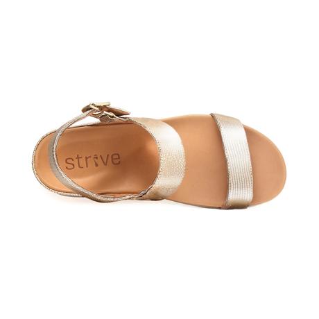 スニーカー感覚で歩き回れる「サンダル」|LUCIA /UK4(23-23.5cm) 独自開発の立体インソールで、スニーカーみたいに歩き回れる「サンダル」|strive|ヌードグラマー