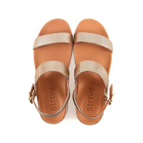 スニーカー感覚で歩き回れる「サンダル」|LUCIA / UK5(24-24.5cm) 独自開発の立体インソールで、スニーカーみたいに歩き回れる「サンダル」|strive|ヌードグラマー