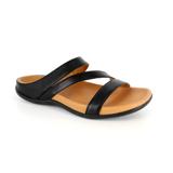 スニーカー感覚で歩き回れる「サンダル」|TRIO / UK3(22-22.5cm) 独自開発の立体インソールで、スニーカーみたいに歩き回れる「サンダル」|strive|ブラック